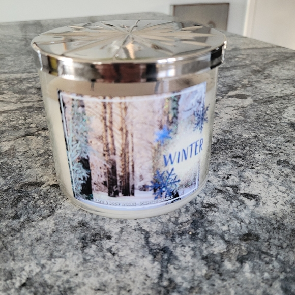 Bath and body candle